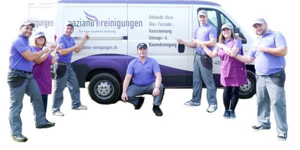 Team von Gaziano Reinigungen