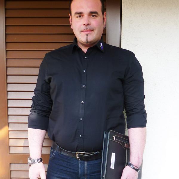 Geschäftsinhaber Aldo Gaziano